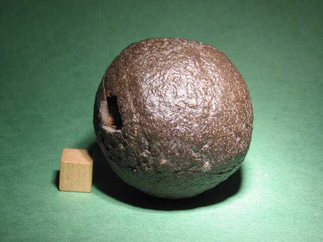 how to tell a meteorite from a rock